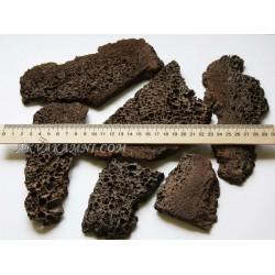 Лава резаная для мхов и растений 100 грамм