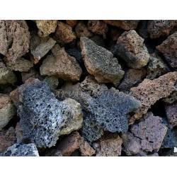 Вулканическая лава 3-8 см для растений 1 кг
