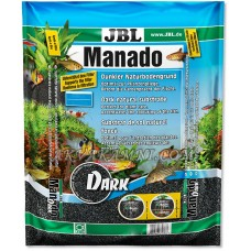 Грунт Manado Dark 5 литров. Черный Манадо