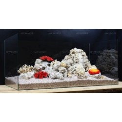 Композиция из Кенийского камня и кораллов